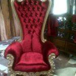 Kursi Sofa Syahrini Queen Emas Mewah