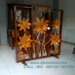 Gambar Sketsel Bunga Matahari Kayu Jati