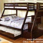 Jual Tempat Tidur Anak Bertingkat Minimalis