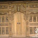 Pintu Gebyok Kudus Ukir Jati Mewah