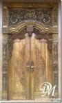 Pintu Gebyok Rumah Jawa Klasik