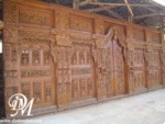Pintu Rumah Gebyok Model Keraton