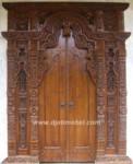 Pintu Rumah Gebyok Ukir Majapahit