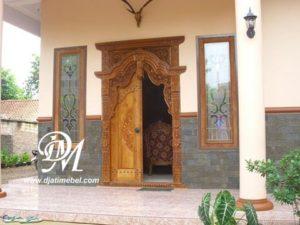 Rumah Minimalis Pintu Gebyok Terbaru