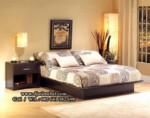 Tempat Tidur Jati Minimalis Medium