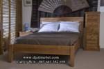Tempat Tidur Minimalis Jati Biasa
