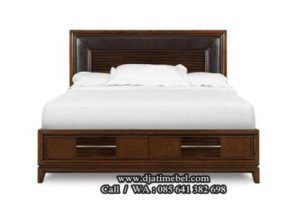 Tempat Tidur Minimalis Klasik Modern