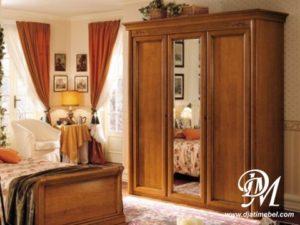 Lemari Pakaian 3 Pintu Minimalis Mewah