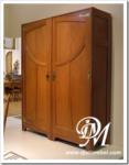 Lemari Pakaian Minimalis 3 Pintu Jumbo Jati