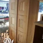 Lemari Pakaian Sliding Kotak 2 Pintu