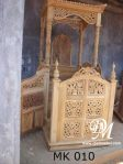 Mimbar Masjid Kanopi Ukir Jati Modern