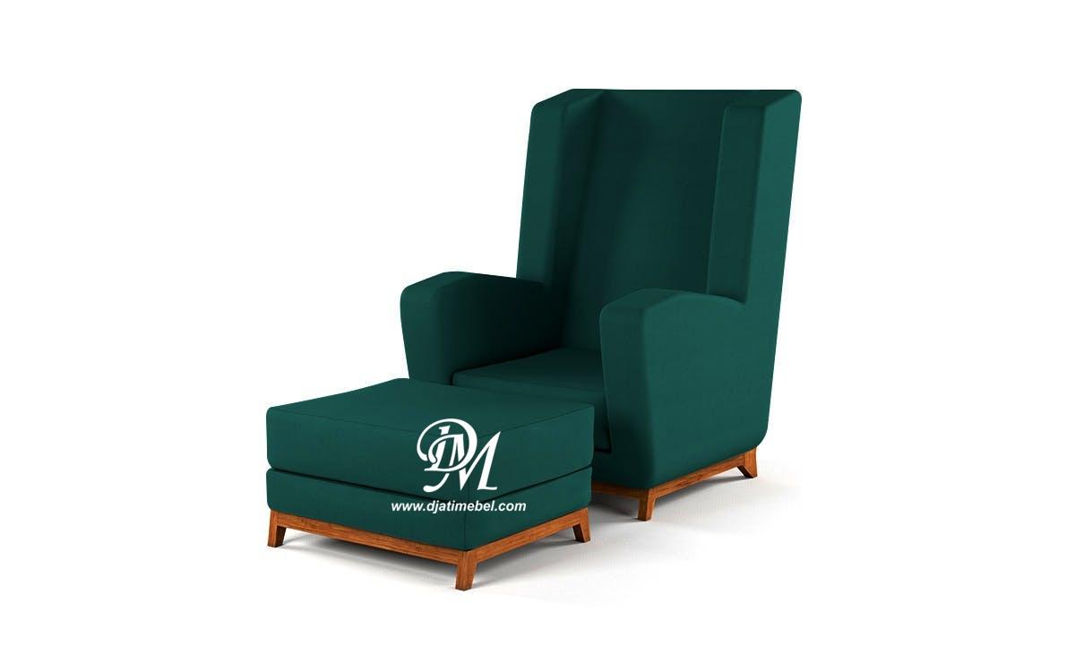 Sofa Santai Eropa Greenfield Royal Mewah