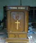Mimbar Gereja Kristus Minimalis Modern