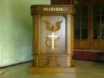 Mimbar Gereja Minimalis Alleluia