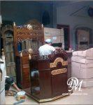 Mimbar Masjid Ukir Gebyok Jati Mewah