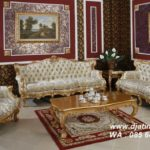 Set Sofa Tamu French Italian Gold