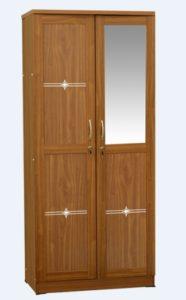Lemari Pakaian 2 Pintu Minimalis Ekspor