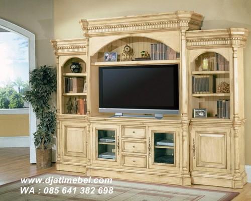 Set Lemari Bufet Tv Klasik Modern