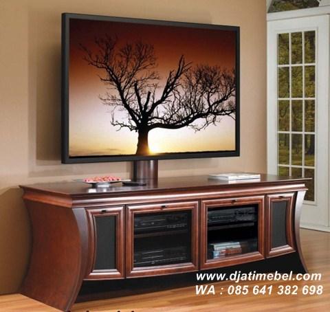 Bufet Tv Solid Kayu Jati