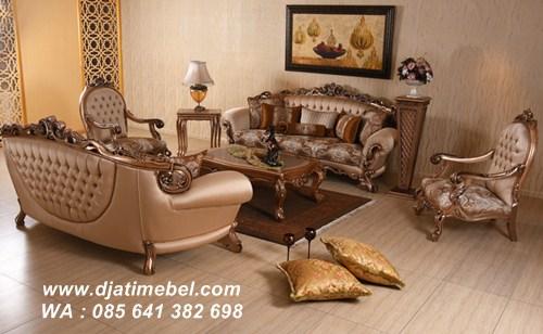 Kursi Sofa Klasik Model Nora Eropa