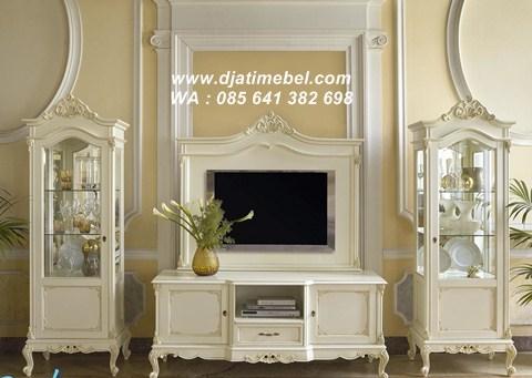 Set Bufet Tv Lemari Duco Klasik