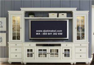 Set Bufet Tv Lemari Duco Modern