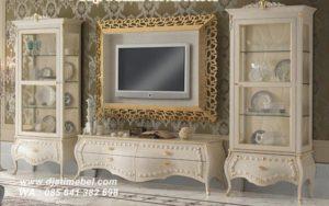 Set Bufet TV Lemari Klasik Mewah