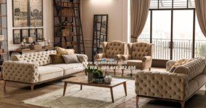 Sofa Tamu Klasik Floransa Terbaru