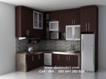 Kitchen Set Desain Minimalis Jati Salak