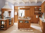 Set Dapur Jati Klasik Modern Brown