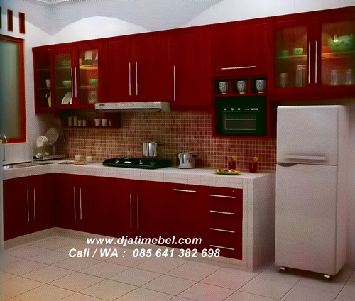 Set Dapur Klasik Jati Modern Solid