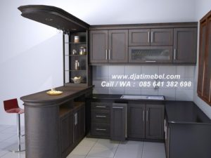 Set Dapur Minibar Klasik Mewah