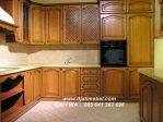 Kitchen Set Minimalis Jati Mewah Terbaru