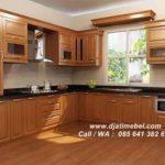 Kitchen Set Minimalis Jati Modern