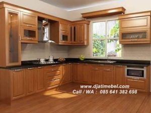 Kitchen Set Minimalis Jati Modern