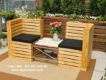Kursi Teras Garden Jati Recycled