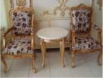 Kursi Teras Klasik Rococo Jati Modern