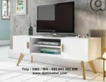 Set Bufet Tv Retro Duco Putih Harga Murah