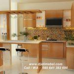 Set Kitchen Dan Bar Jati Minimalis Elegan