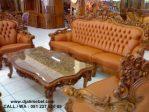 Set Kursi Tamu Ganesha Royal Mawar Modern