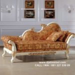 Kursi Sofa Jati Louis Royal Italian