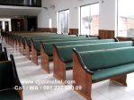 Bangku Kursi Gereja Kayu Jati Minimalis