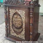 Mimbar Podium Masjid Terbaru Jati Klasik